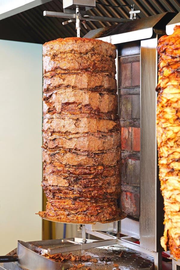 doner παραδοσιακός Τούρκος τροφίμων kebab στοκ φωτογραφία