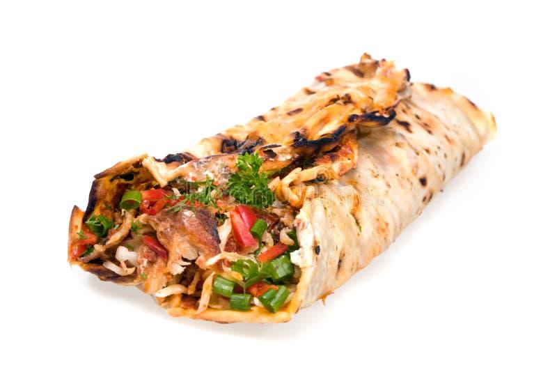 Doner kebab. stock afbeeldingen