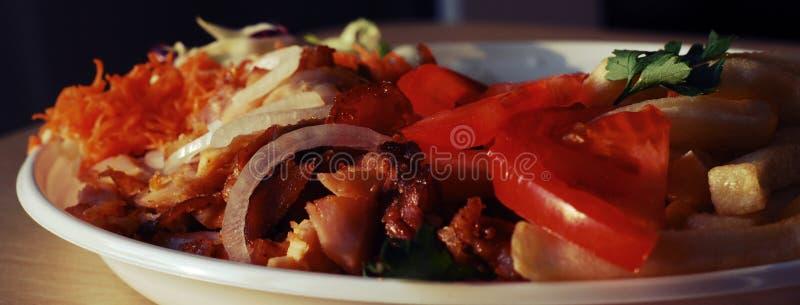 Doner kebab stock fotografie