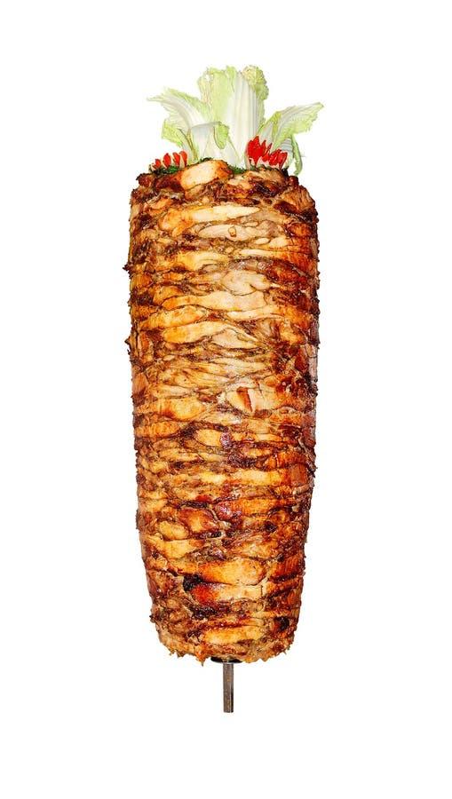 doner kebab 免版税库存照片