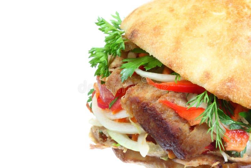 Download Doner kebab. stock photo. Image of green, doner, asian - 8491248