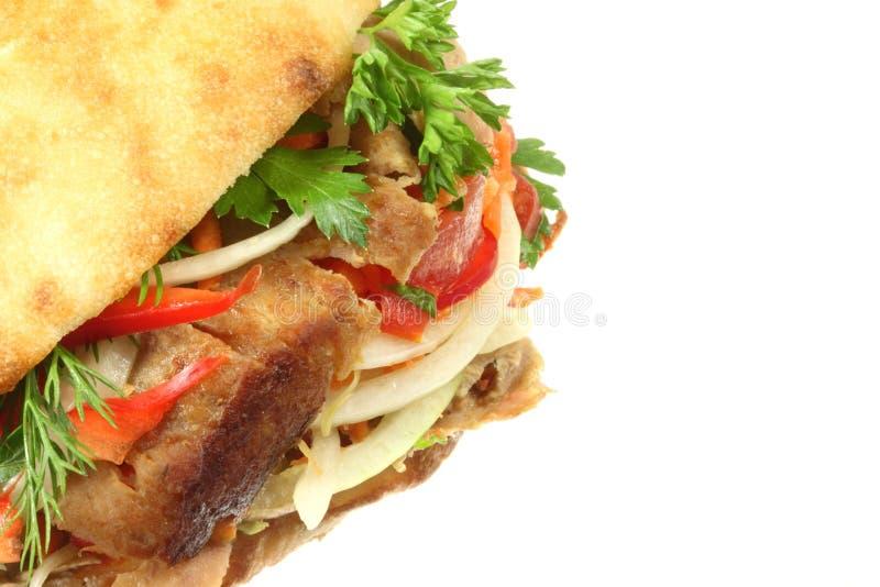 Doner kebab. royalty free stock image