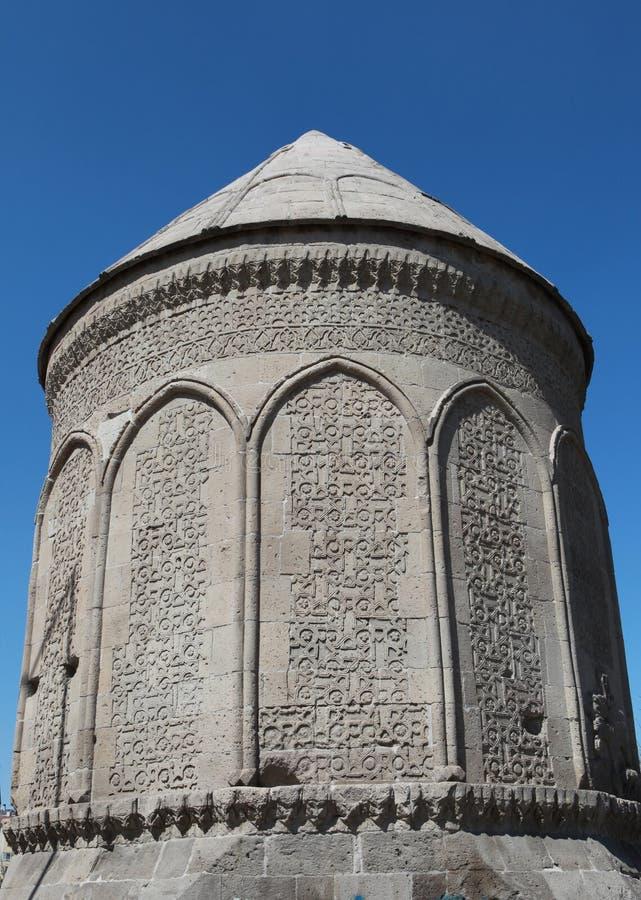Doner Kumbet in Kayseri, Turkije. stock foto