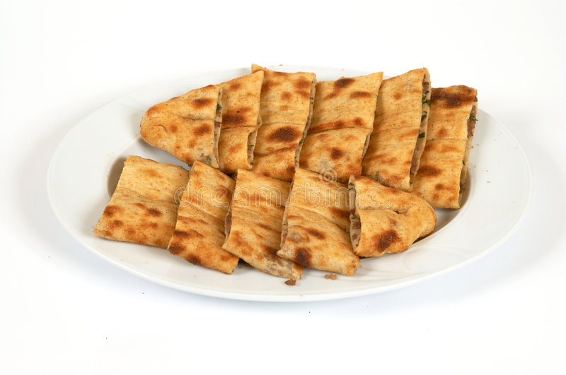Doner pide royalty free stock image