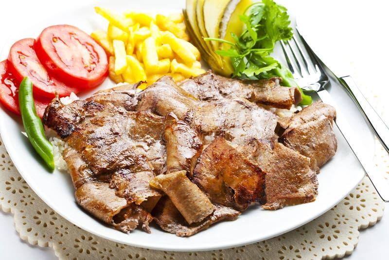 Doner turco Kebab imágenes de archivo libres de regalías