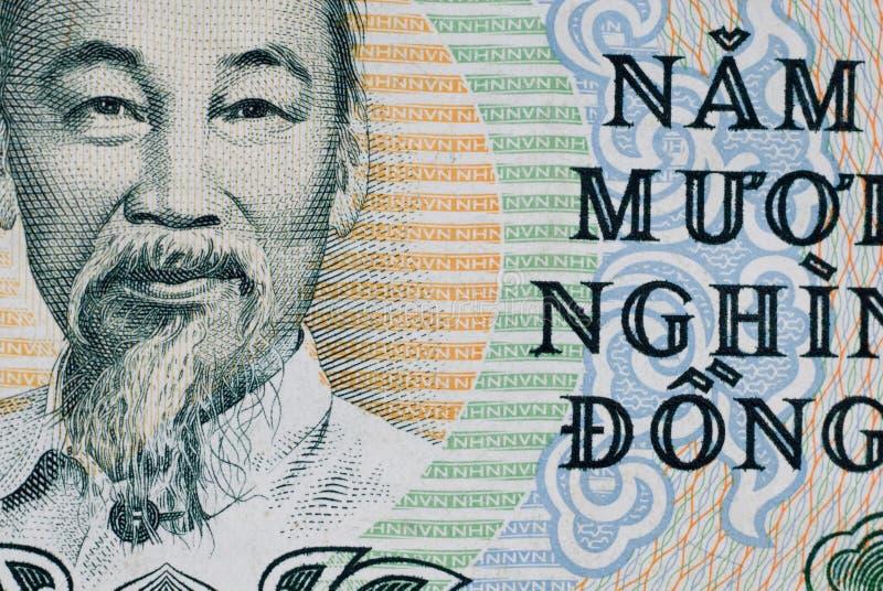 Dong del vietnamita 50000 fotografia stock libera da diritti