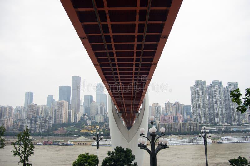 Dong Shui Men Bridge, Chongqing, China imagens de stock