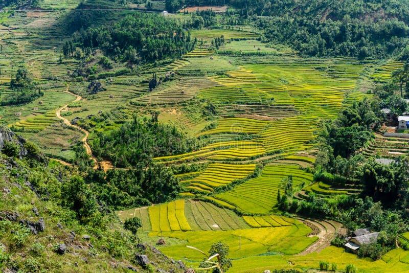 Van (Ha Giang),Vietnam. Van (Ha Giang) Vietnam - Trekking restricted northern region, landscape stock images