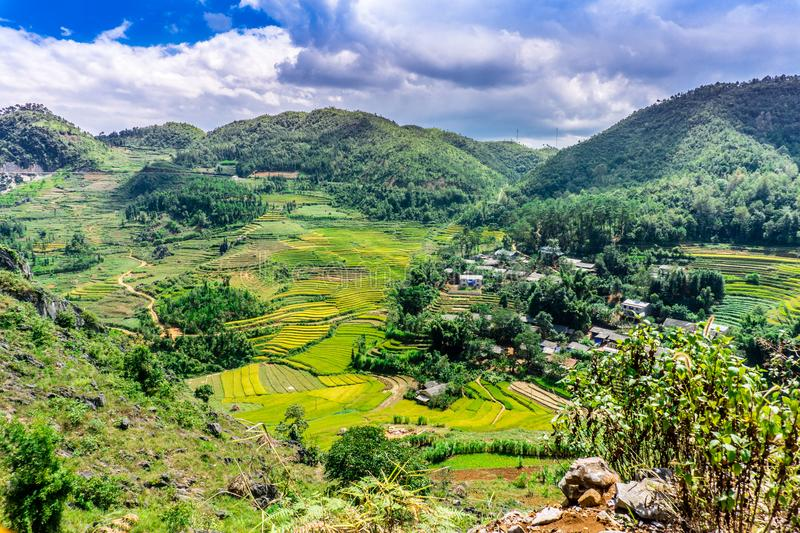 Van (Ha Giang),Vietnam. Van (Ha Giang) Vietnam - Trekking restricted northern region, landscape royalty free stock photo