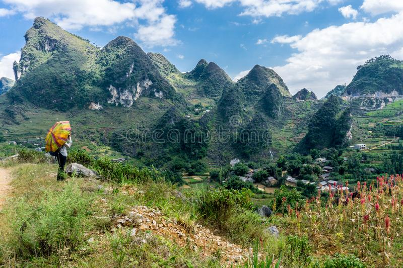 Van (Ha Giang),Vietnam. Van (Ha Giang) Vietnam - Trekking restricted northern region, landscape royalty free stock photography