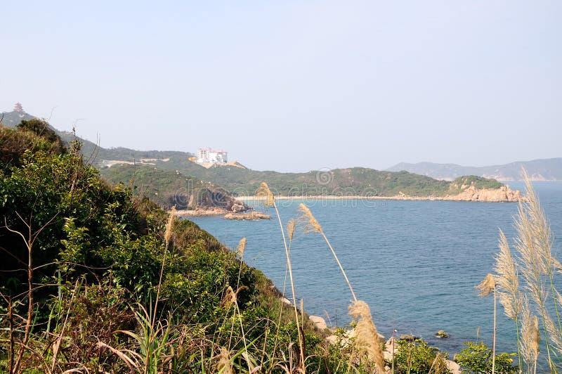 Dongao Island Coast royalty free stock image