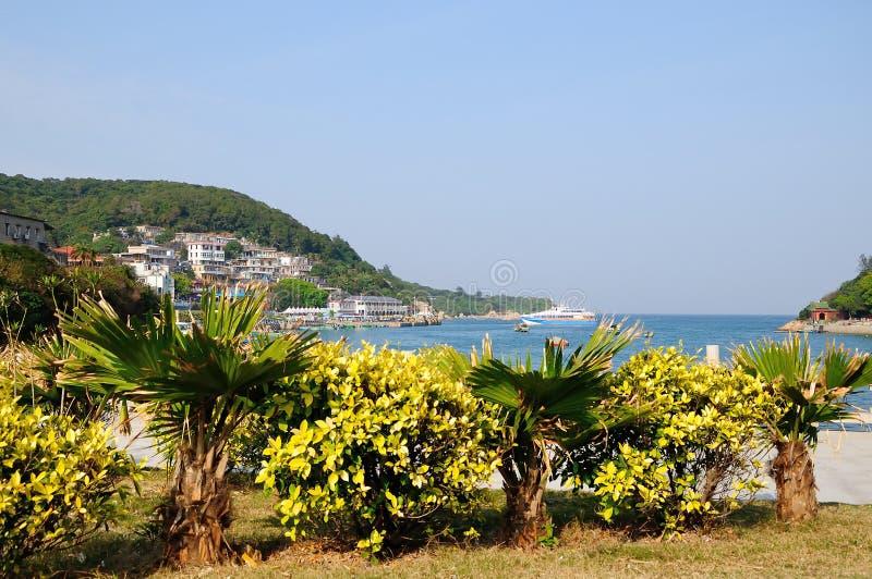 Dongao Island Coast stock photo