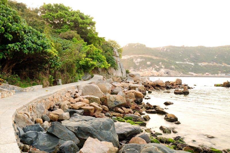Dongao island coast stock photography