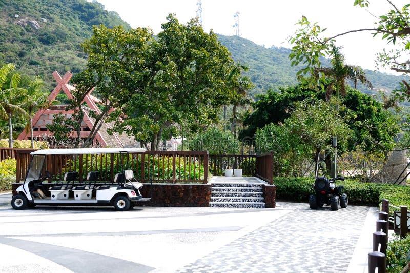 Dongao island scenery stock photo