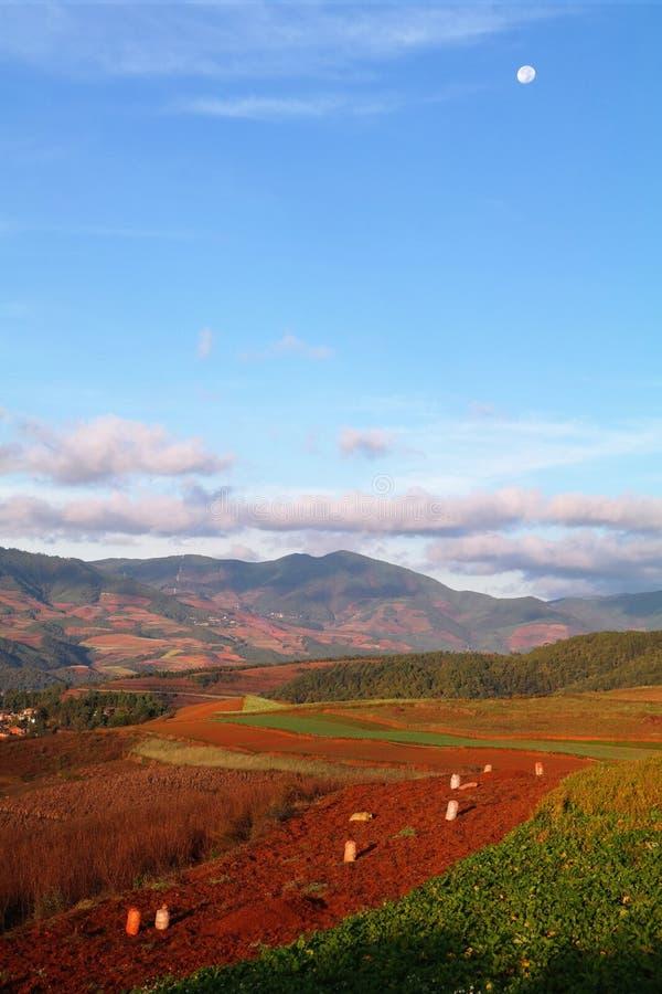 Dongchuan Redland photographie stock libre de droits