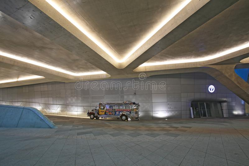 Dongdaemun设计广场汉城,韩国 图库摄影