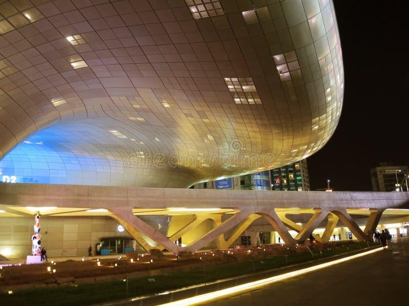 Dongdaemun Design Plaza ( DDP) stock photography