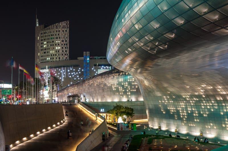 Dongdaemun Design Plaza stock image