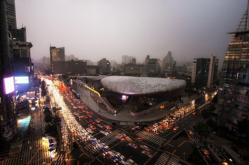 Dongdaemun Plaza arkivfoto