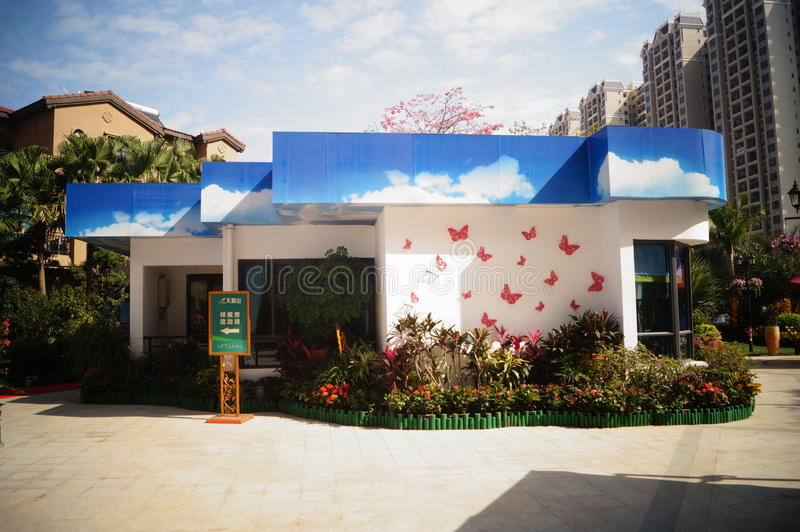 Dongguan, Китай: Городские здания стоковые изображения