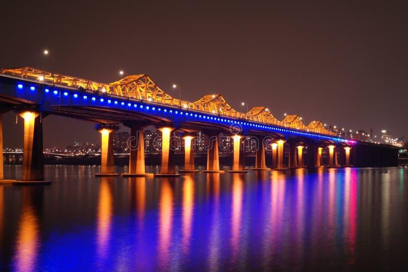 Dongho bro arkivbild