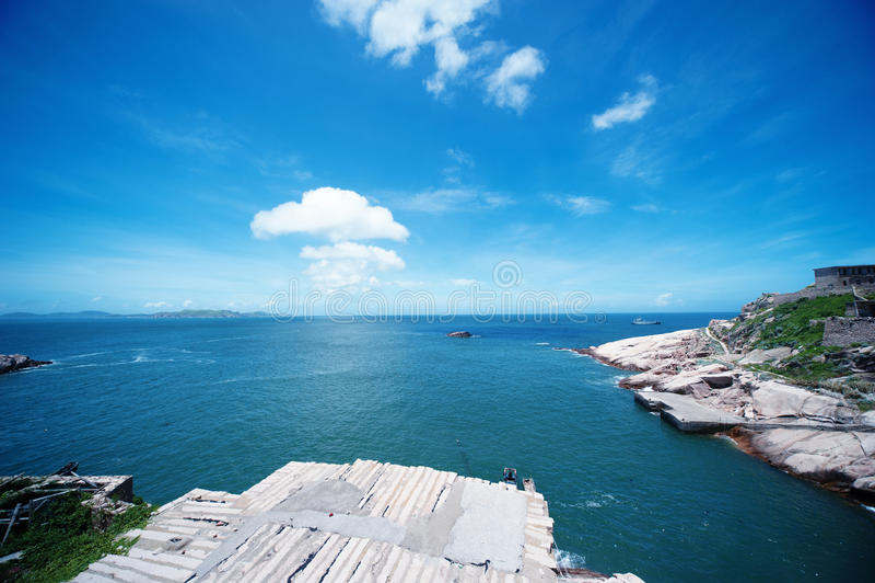 Dongji Isles stock photo