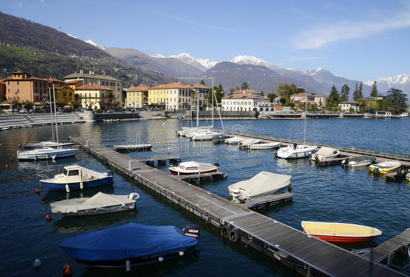Download Dongo Harbour And The Lake, Como, Italy Editorial Photo - Image: 30437201