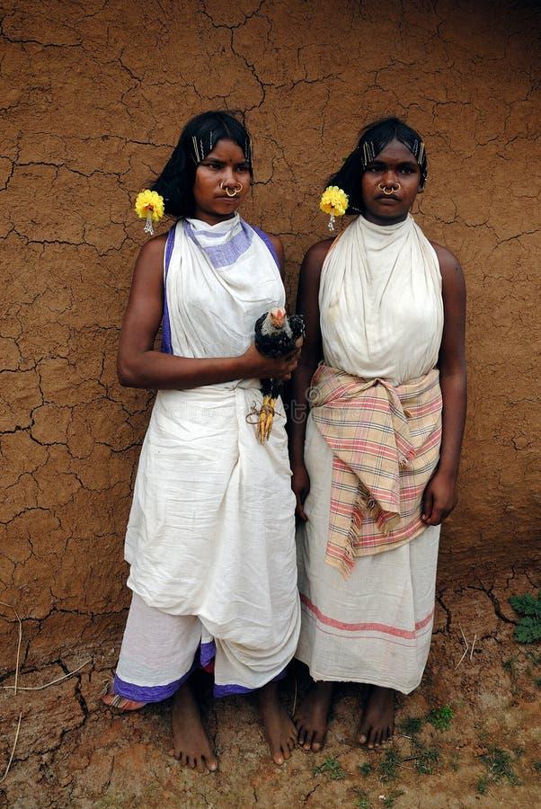 dongria ind kondh orissa s plemienia kobiety zdjęcie royalty free
