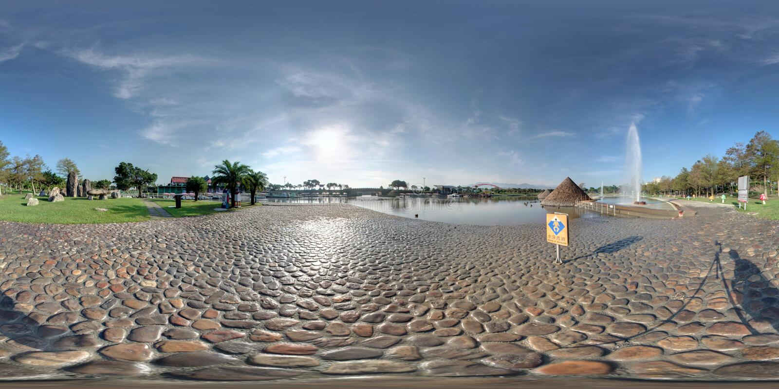 Dongshan water park landscapes stock photo