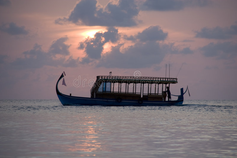 doni maldivian στοκ φωτογραφία με δικαίωμα ελεύθερης χρήσης