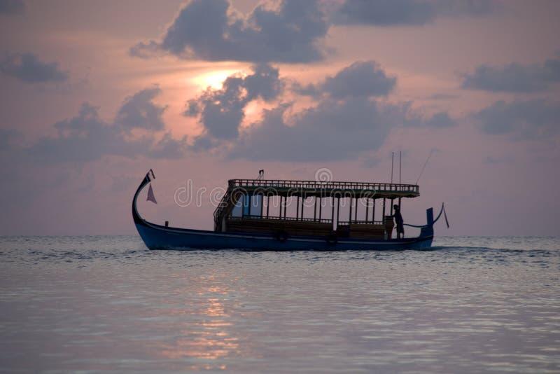 Doni maldivien photographie stock libre de droits