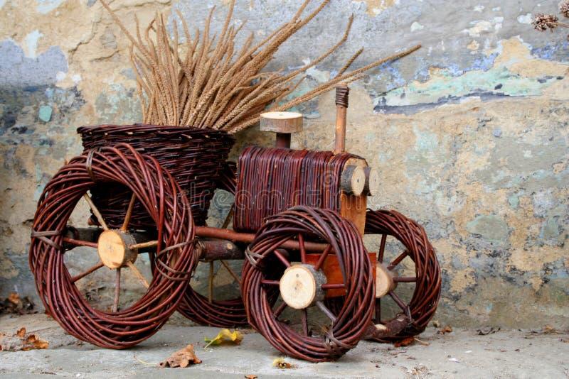doniczce ciągnika zdjęcie royalty free