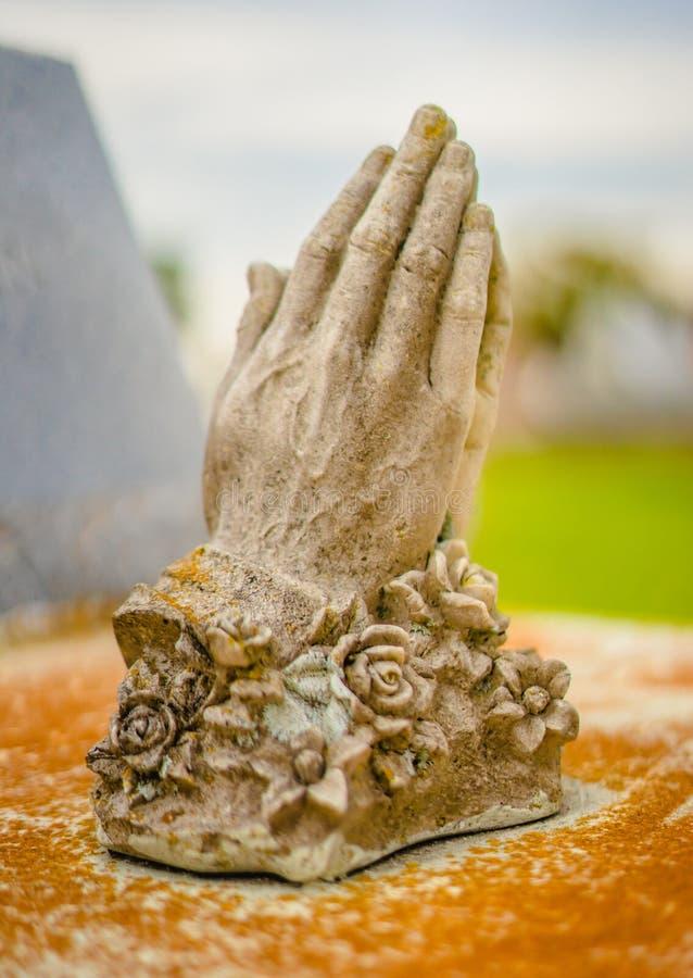 Doniosła dekoracji lub grób statua zdjęcia royalty free