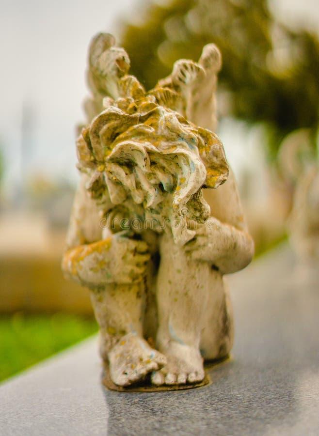 Doniosła dekoracji lub grób statua obrazy stock