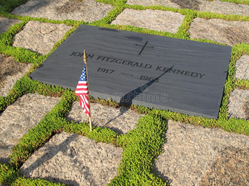 doniosły F kamień John Kennedy zdjęcia stock