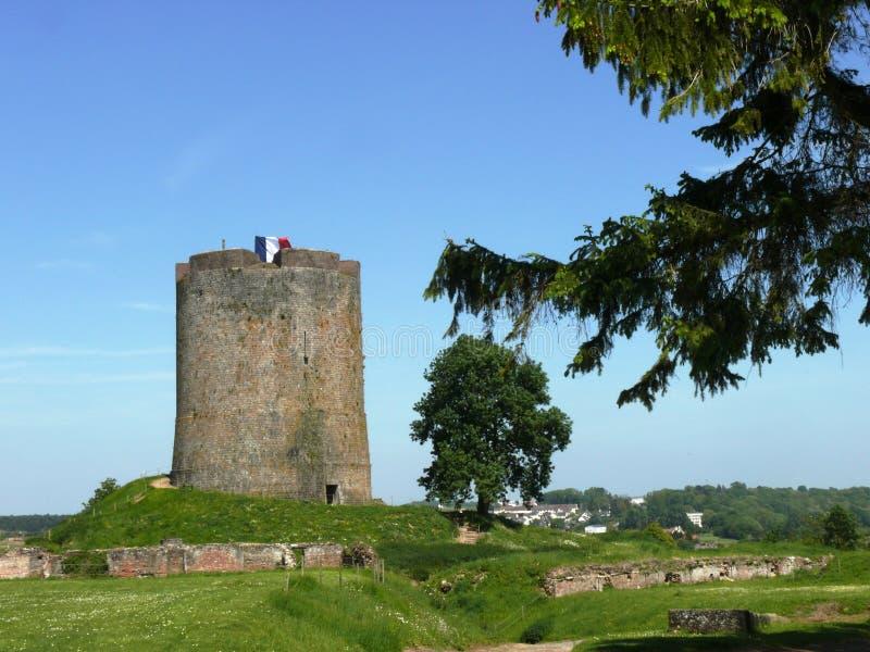 Donjon ενδυμασία του Castle στοκ φωτογραφίες με δικαίωμα ελεύθερης χρήσης