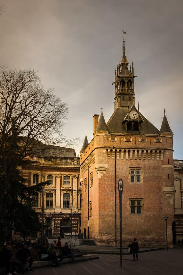 Donjon du Capitole 图卢兹 法国 免版税库存图片