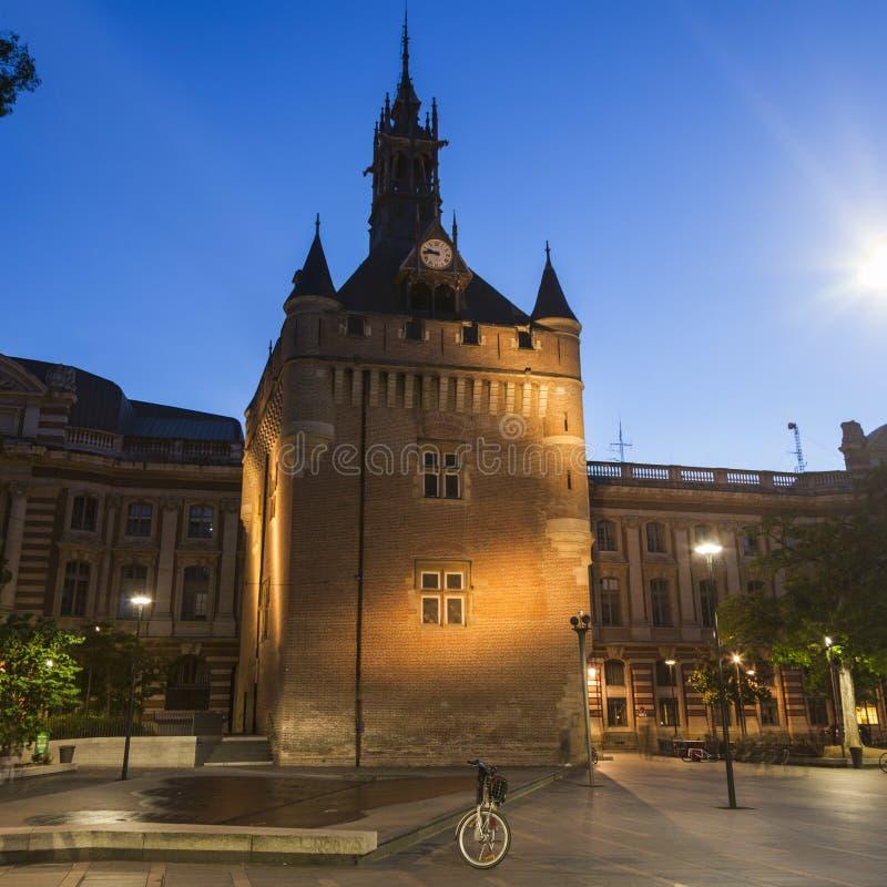 Donjon du Capitole in Toulouse lizenzfreies stockbild