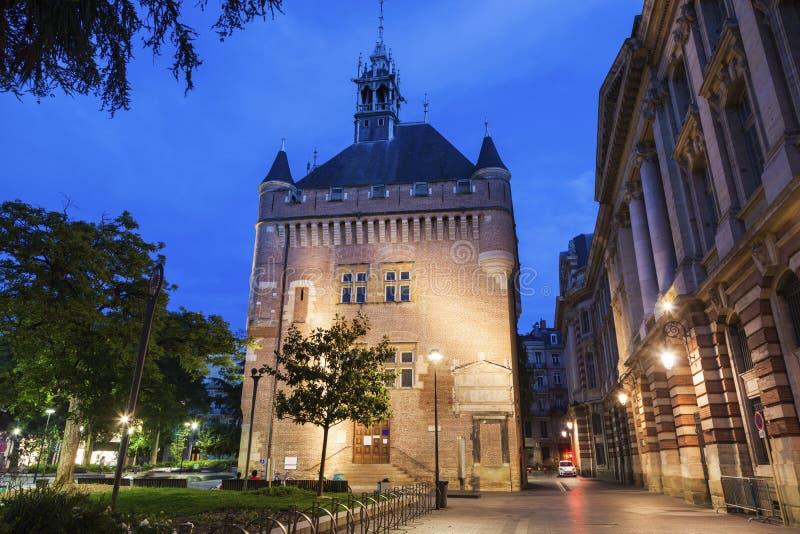 Donjon du Capitole in Toulouse lizenzfreie stockfotografie