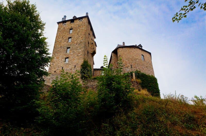 Medieval Reinhardstein castle Belgium royalty free stock photos