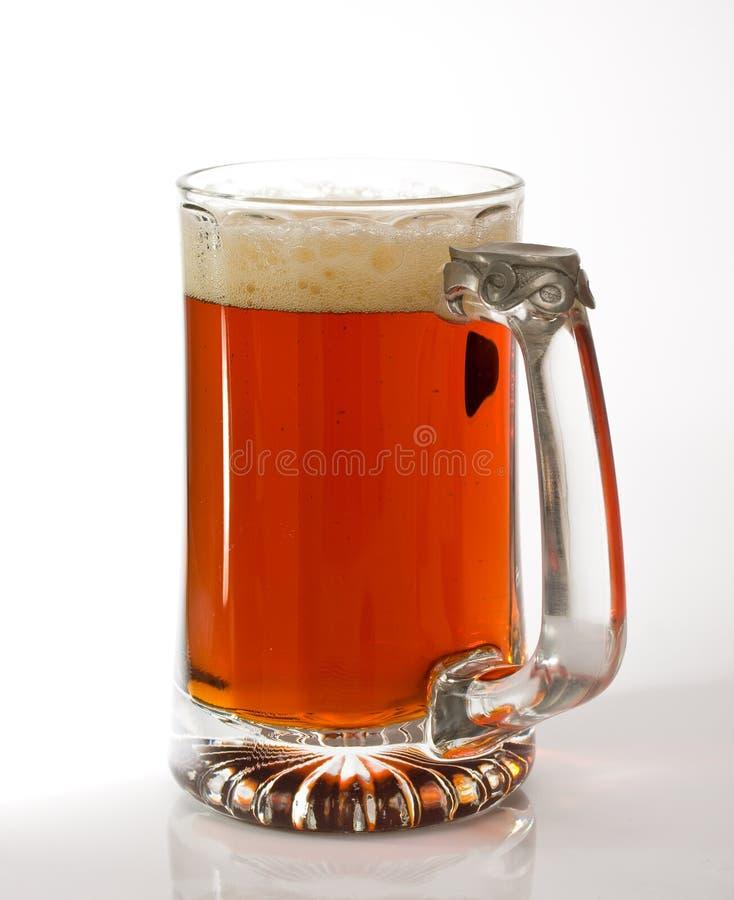 Donker bier stock foto