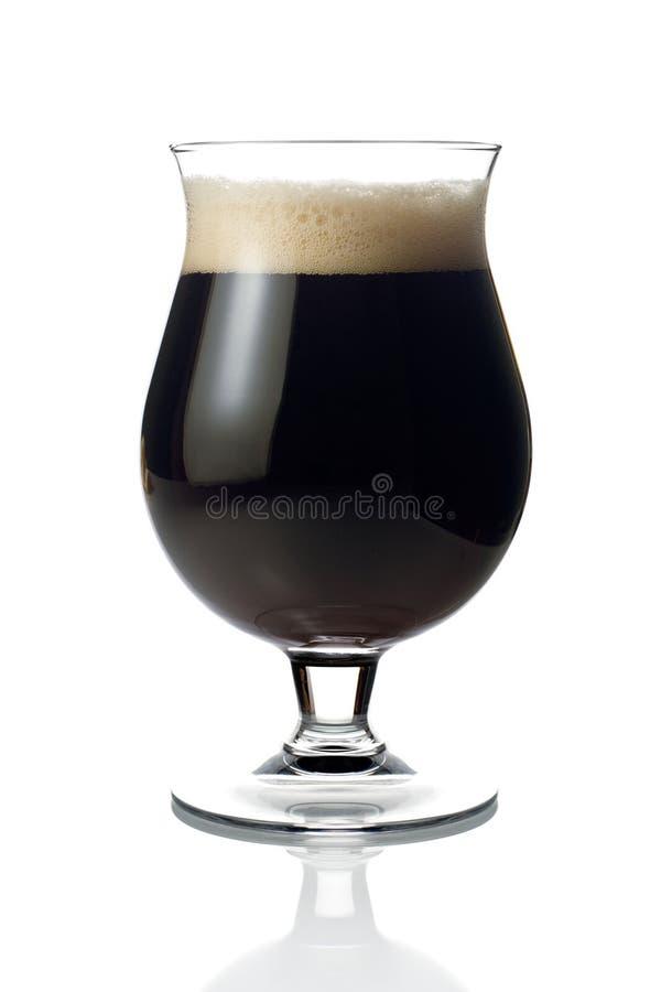 Donker bier royalty-vrije stock fotografie