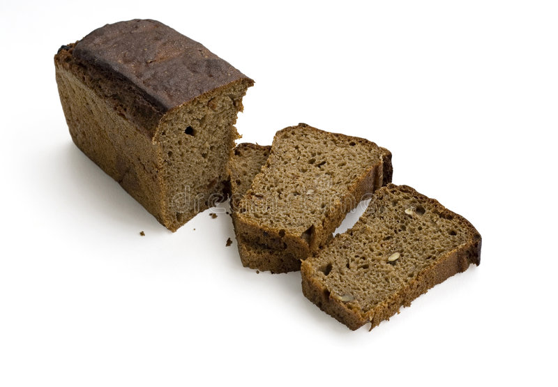 Donker brood stock foto