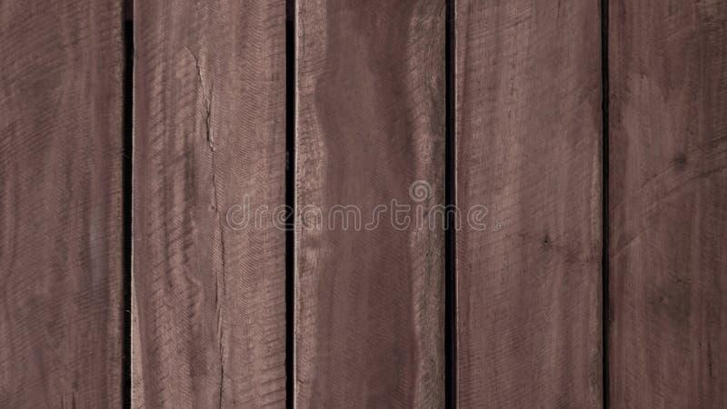 Donker bruin horizontale lijnpatroon op het rustieke oude hout, materiaal voor decoratie de muurachtergrond stock afbeeldingen
