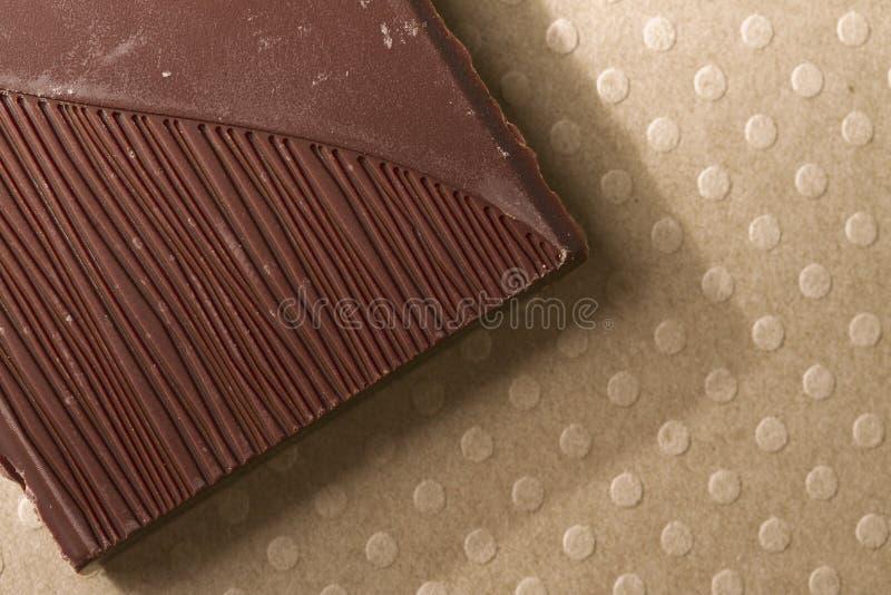 Download Donker chocoladestuk stock afbeelding. Afbeelding bestaande uit macro - 29508375