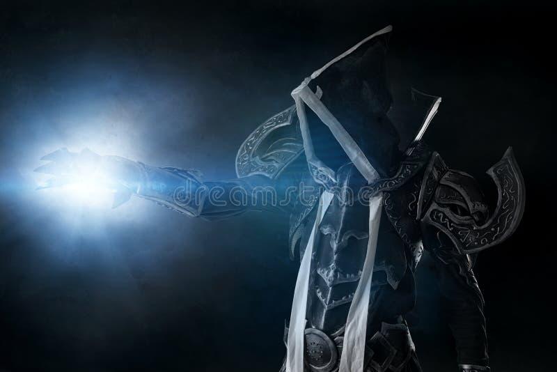 Donker cosplay demon royalty-vrije stock fotografie