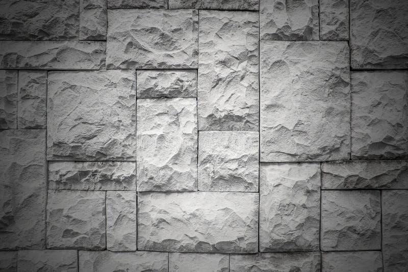Donker patroon van decoratieve witte van de de muuroppervlakte van de leisteen de textuurachtergrond stock foto