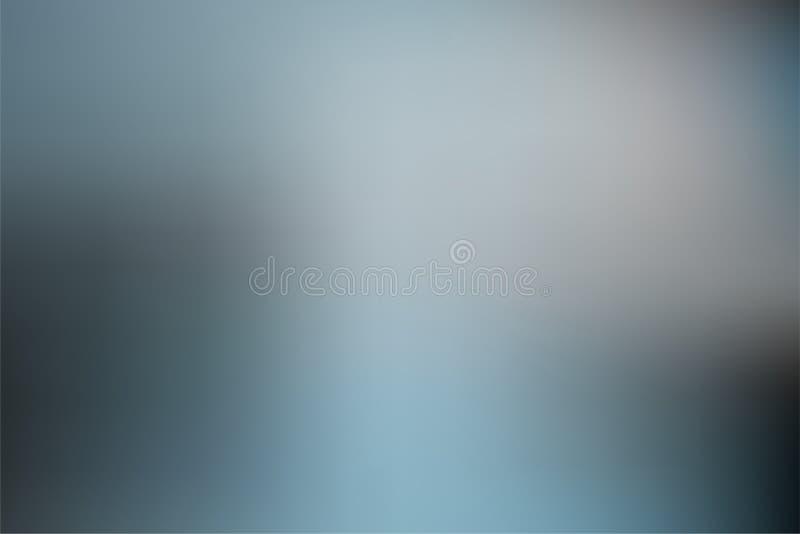 Donkerblauwe Gradiënt Vectorachtergrond, Eenvoudig blauw mengsel van blauwe kleurenruimten als eigentijdse grafische achtergrond  royalty-vrije illustratie