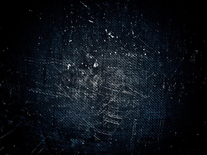 Donkerblauwe grungetextuur Abstracte textuur en achtergrond voor ontwerpers royalty-vrije stock fotografie