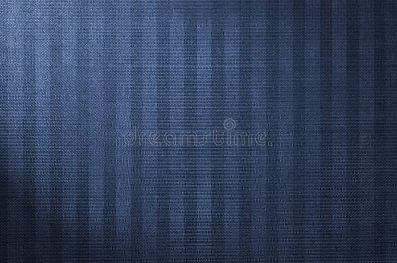 Donkerblauwe streepachtergrond - document textuur royalty-vrije stock foto's